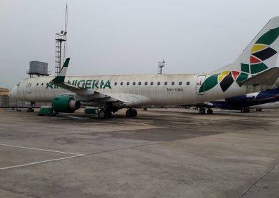 Air Nigeria Embraer 190