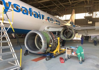 Aircraft Maintenance C-Check Boeing 737-400